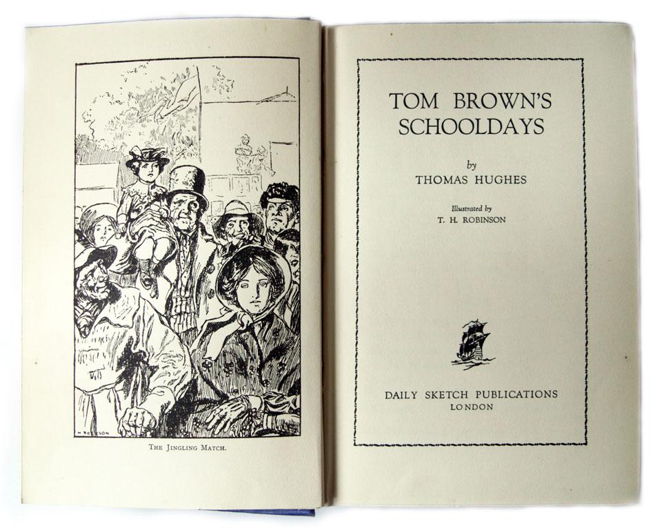 Tom browns schooldays essay